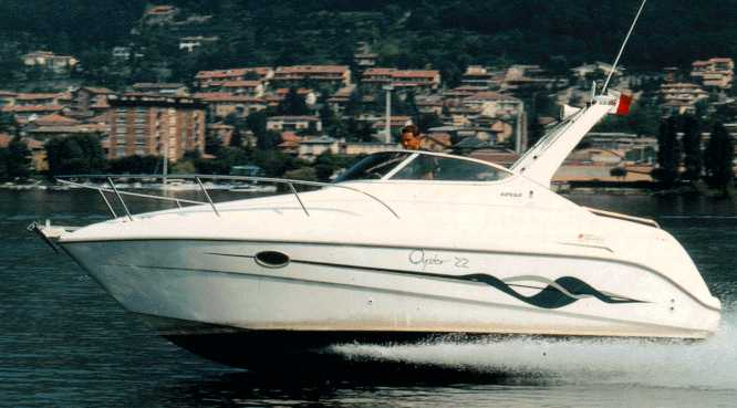 SESSA MARINE OYSTER 22. This boat, expressly designed for cruising, ...