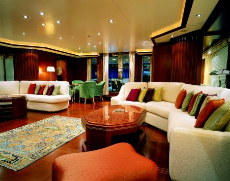 "... the second Benetti Vision, a super yacht launched with the name ""More""."
