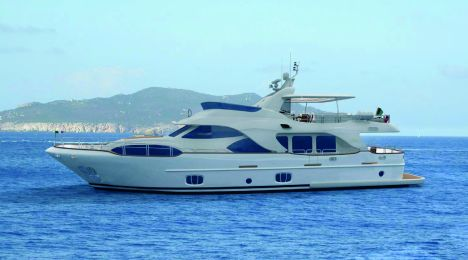 "The Benetti series of yachts built in composite, boasts ""Tradition,"" of 30 ..."